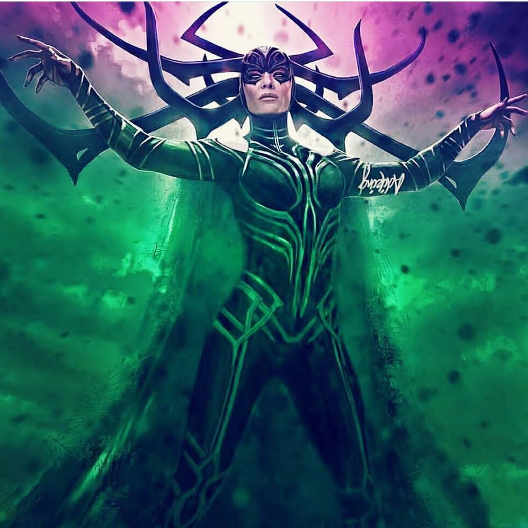 """2,047 Likes, 8 Comments - Marvel Entertainment (@marvel_entertainment) on Instagram: """"Great Hela !!! . Follow @Marvel_entertainment for the best quality Marvel content and news. ✅…"""""""
