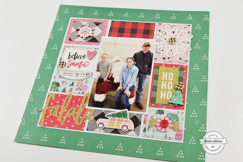 Christmas Scrapbooking Idea Scrapping It Up Pinterest