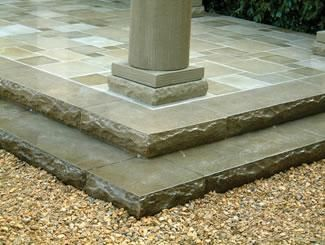 Stamped Concrete, rough looking edges