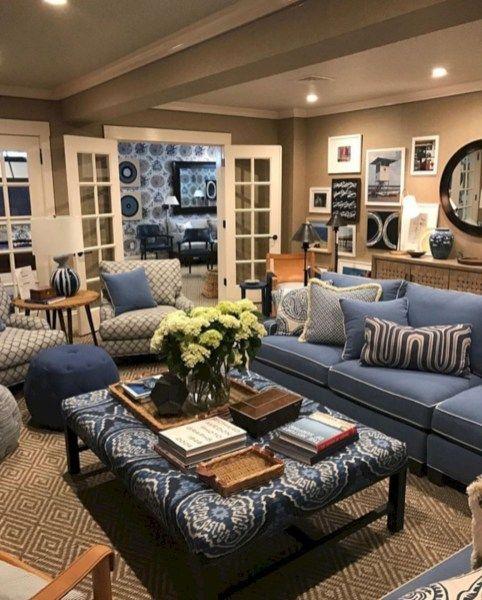 30+ Extraordinary Coastal Living Room Decoration Ideas images