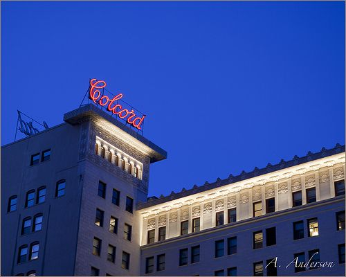 Colcord Hotel Oklahoma City Ok With Images Colcord Oklahoma City Hotel