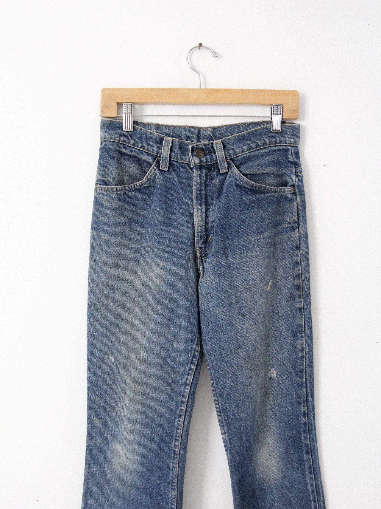 vintage Levi's 646 denim jeans, 29 x 30 – 86 Vintage