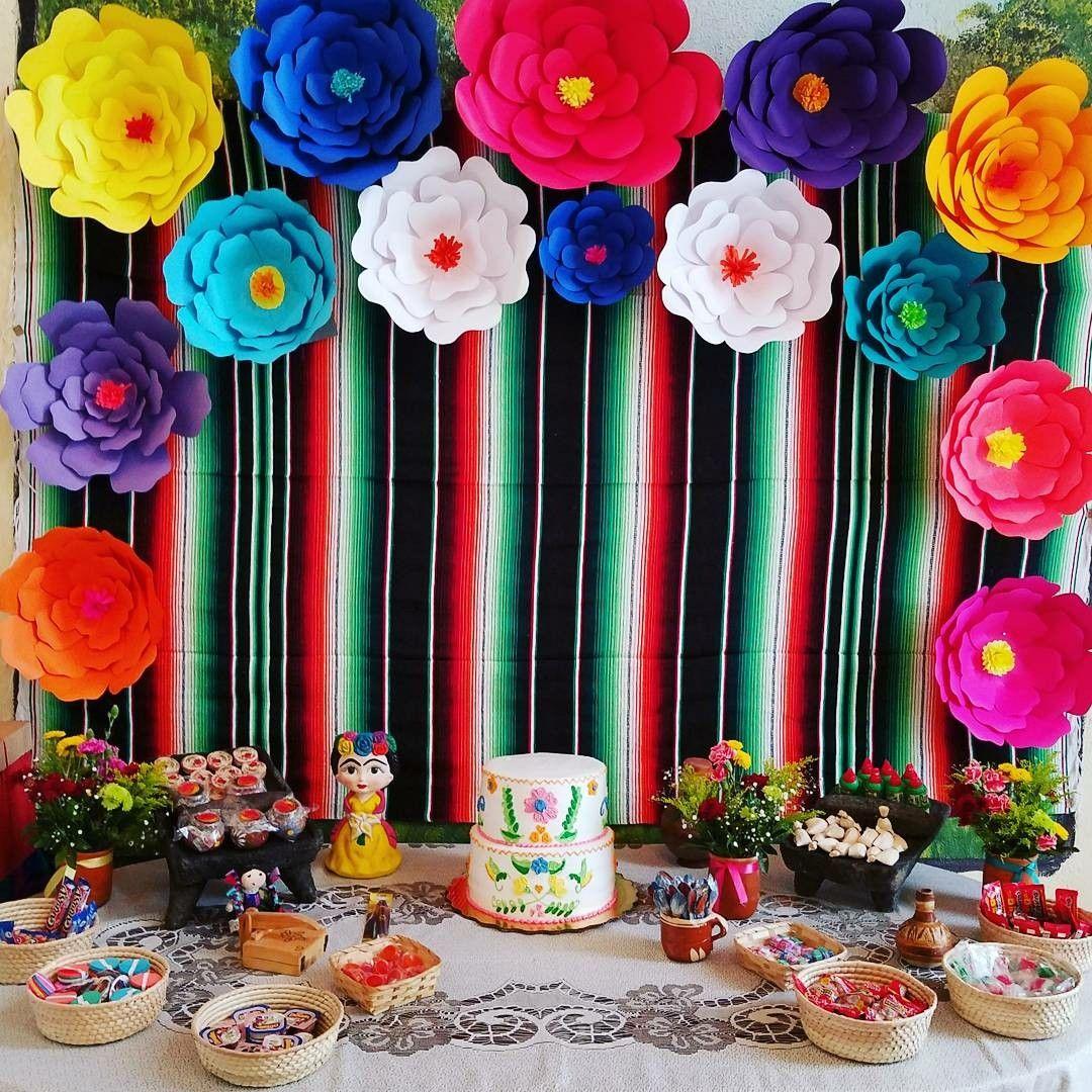 Fiesta mexicana mesa de dulces dulces t picos de m xico for Backdrop para mesa de dulces