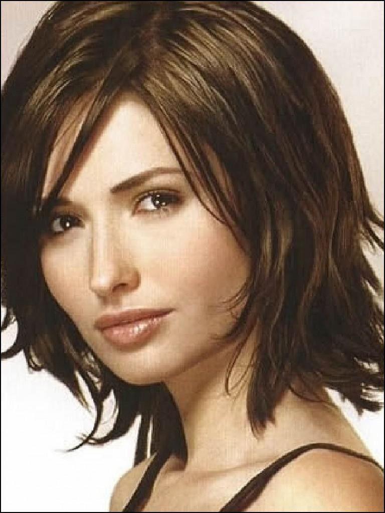 Short Layered Haircuts For Thick Wavy Hair Mid Length Haircuts