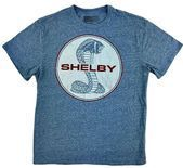 Shelby Cobra  LARGE Men's T-Shirt Classic Car Blue Logo Ford Racing #Shelby #Gra…