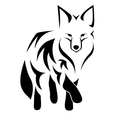 Tribal Fox By Meilssa26 On Clipart Library Clip Art Library Fox Tattoo Design Tribal Fox Fox Tattoo