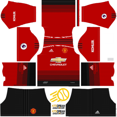 Logotipo Manchester United Kits Dream League Soccer 2019 Camisetas De Equipo Camiseta Manchester United Uniformes Soccer