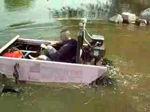 Home built amphibious boat | amphibious vehicles | Pinterest ...