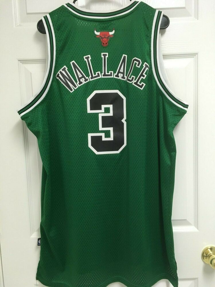 best sneakers d0500 7b79b BEN WALLACE 3 Chicago Bulls St Patrick's Day 2007 Basketball ...