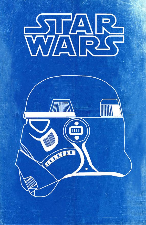 Star wars stormtrooper blueprint art of by bigbluecanoe on etsy star wars stormtrooper blueprint art of by bigbluecanoe on etsy malvernweather Image collections
