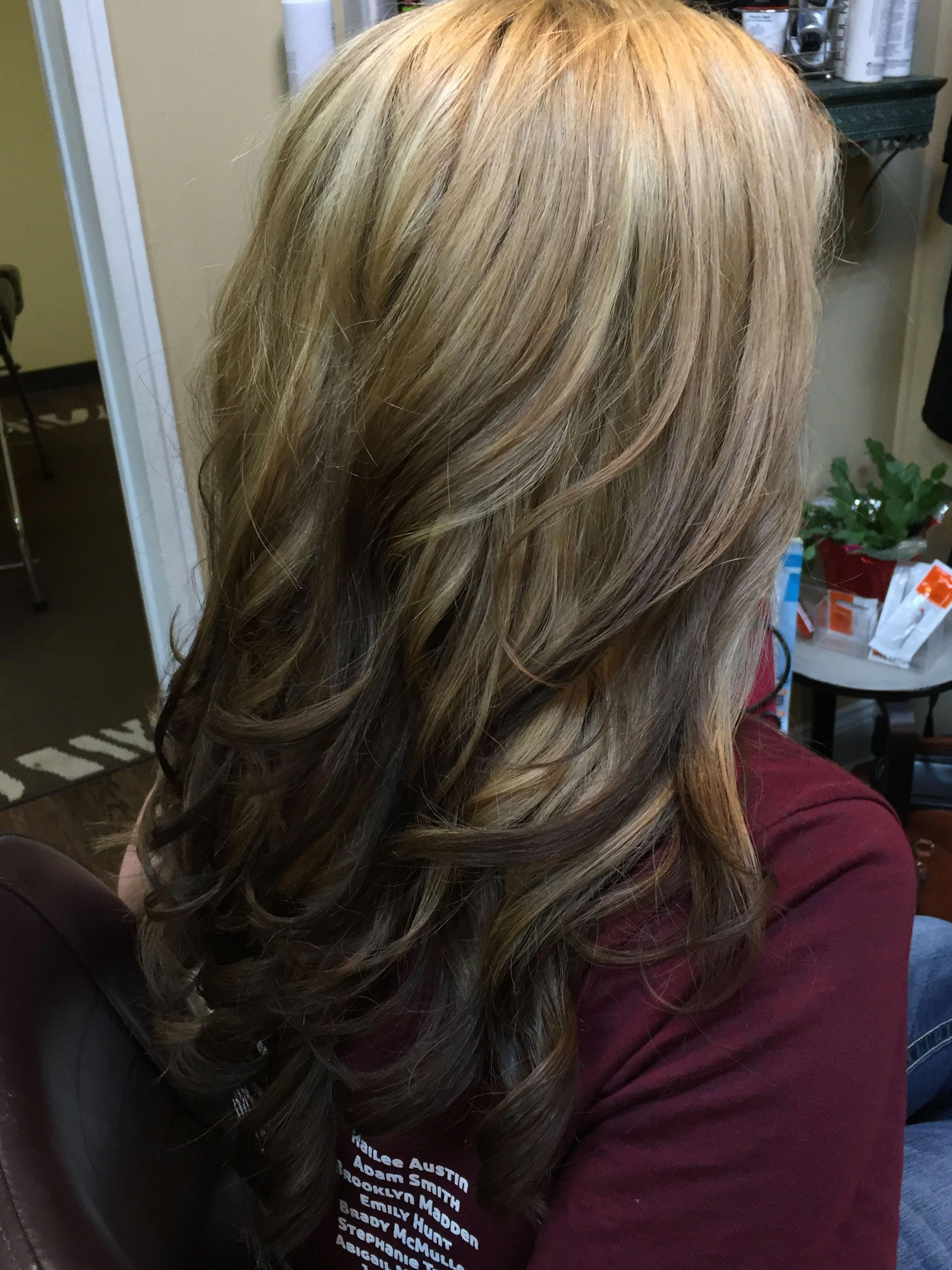 63 Stunning Examples Of Brown Ombre Hair With Images Dark Ombre Hair Ombre Hair Blonde Hair Styles