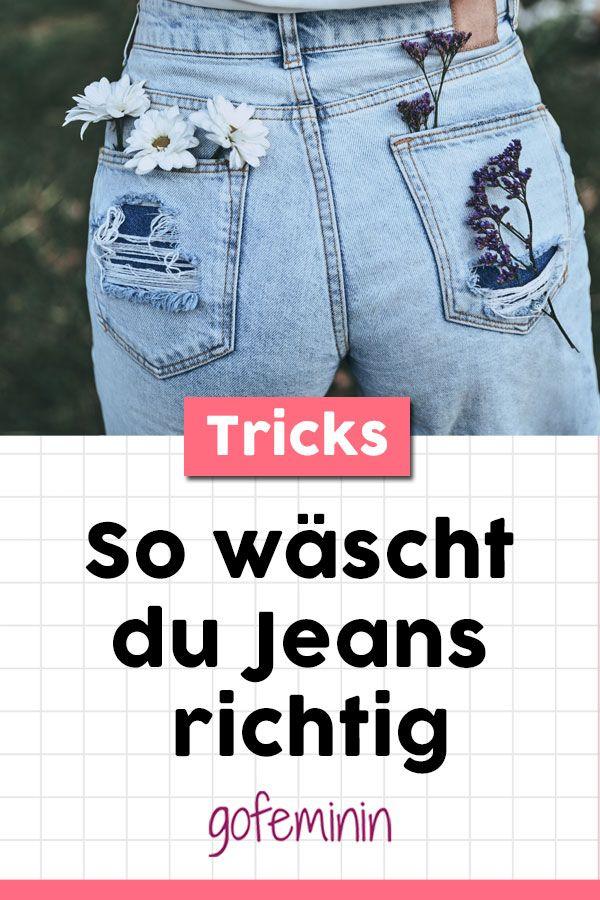 4ae610284c8ac6 Jeans waschen: Diese 8 Tricks sind einfach GENIAL! | Geniale Hacks ...