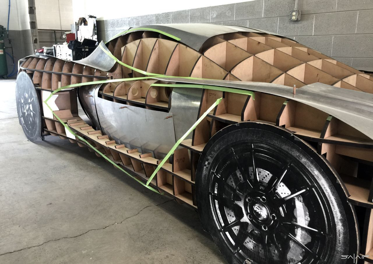 Designer Follows Passions And Dreams To Build His Own Supercar In 2020 Super Cars Design Building