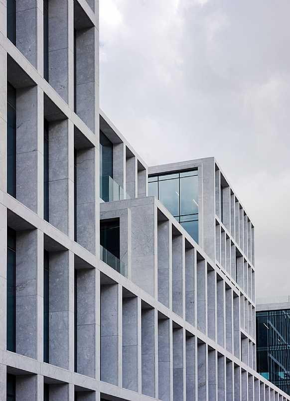 Bestseller Kontorhus Projekter Concrete Architecture Facade Architecture Hotel Facade