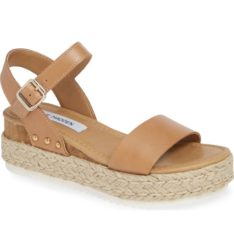 b67c14c829c5 Free shipping and returns on Steve Madden Chiara Platform Espadrille Sandal  (Women) at Nordstrom.com. An espadrille platform sole adds an organic touch  to ...