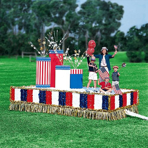 Christmas In July Party Supplies.Patriotic Floats Patriotic Float Kit Party Supplies