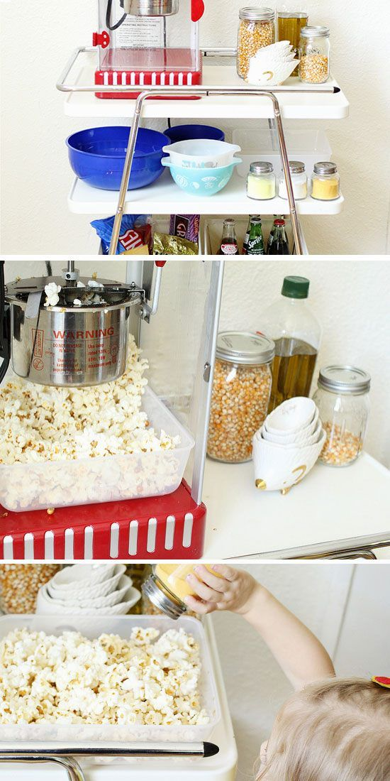 19 DIY Movie Date Night Ideas at Home | Movie, Cinema party and ...