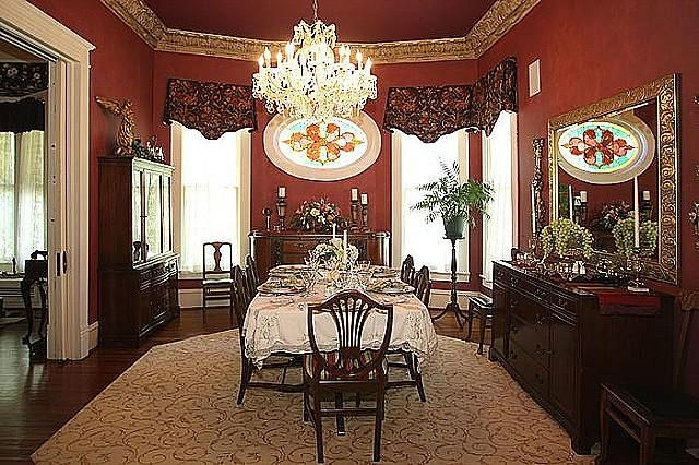 Victorian Style House Dining Room At Home Pinterest Dining Room Victorian Victorian Style Decor Victorian Interiors
