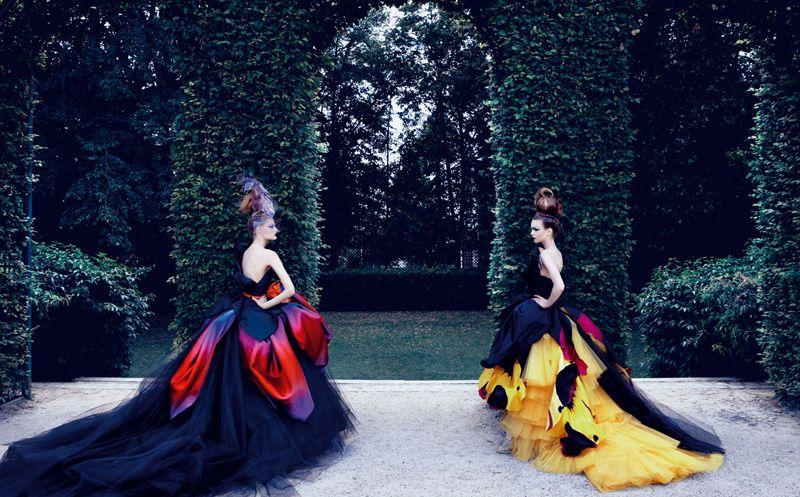 Giardino Segreto - Dior Haute Couture e Patrick Demarchelier-