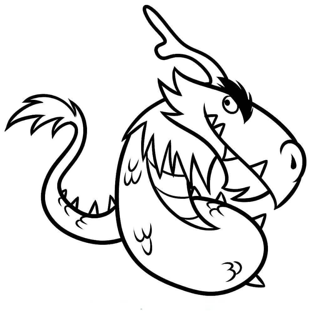 Dragon Coloring Pages In 2020 Dragon Coloring Page Coloring Pages Coloring For Kids