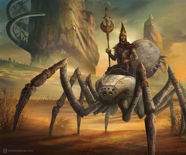 Artstation Guild Wars 2 Fan Art Collection Weston T Jones Spider Art Fantasy Monster Fantasy Art