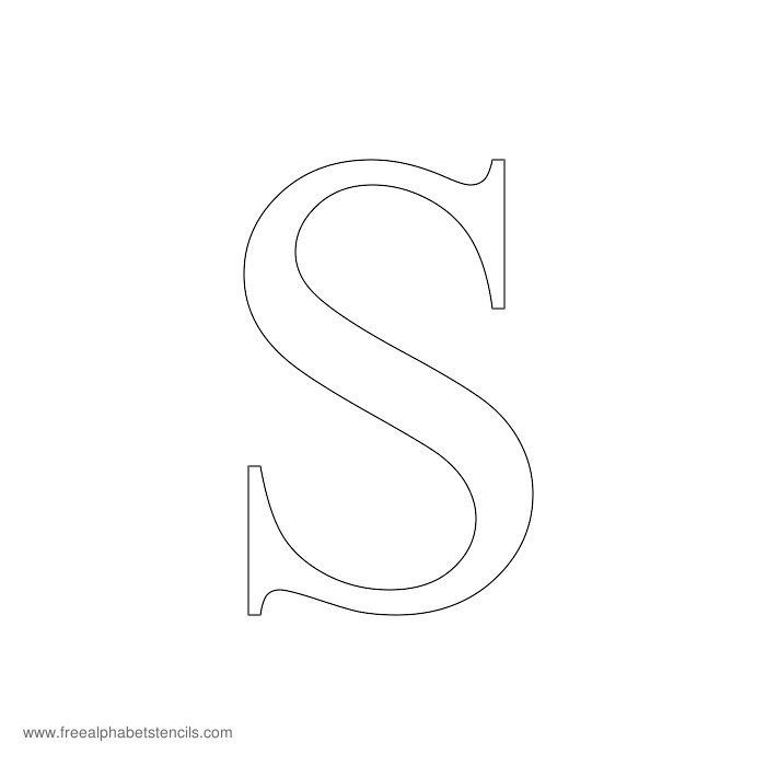Pin By Summah Mo On Wedding Ideas Non Decor: Times New Roman Alphabet Stencil S