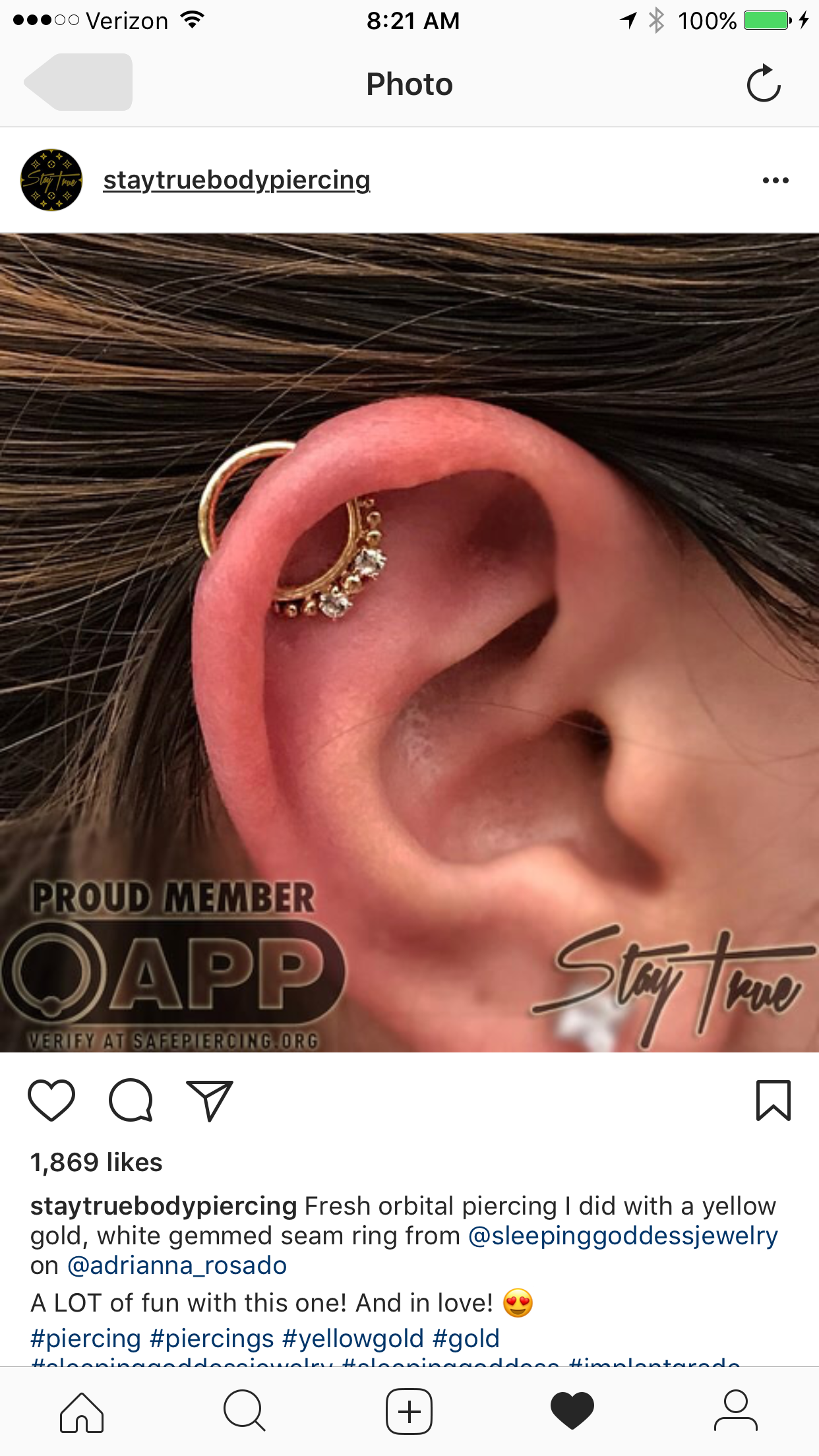 Piercing from nose to ear  Pin by Cindie Geddes on Body Mod  Pinterest