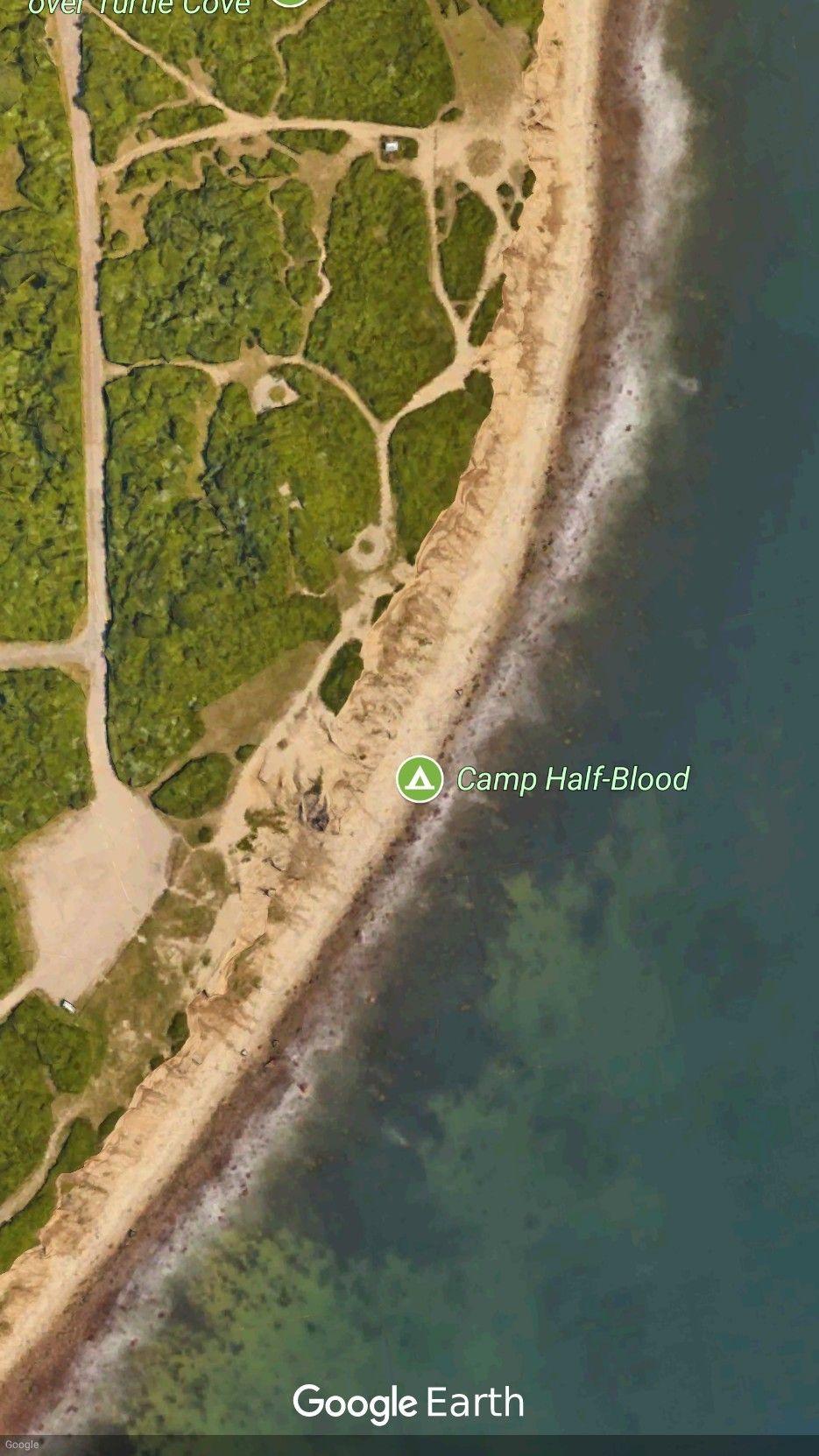 In Google Earth, search