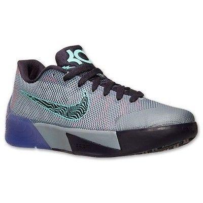 637418ea241 NEW Nike KD Trey 5 II Mens Shoes Magnet Grey Purple Hyper Grape 653657 055  SZ 10
