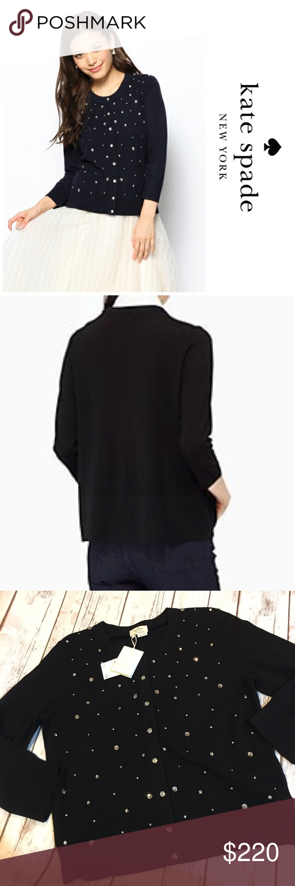 NWT Kate Spade Black Wool Sweater Brand new with tags Kate Spade ...