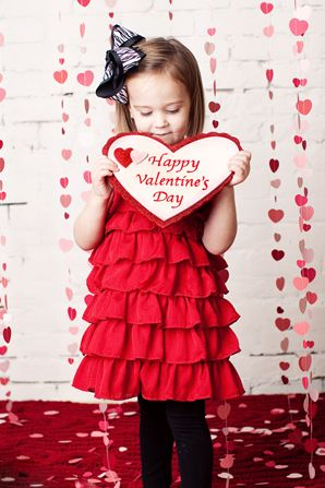 valentines day children photography