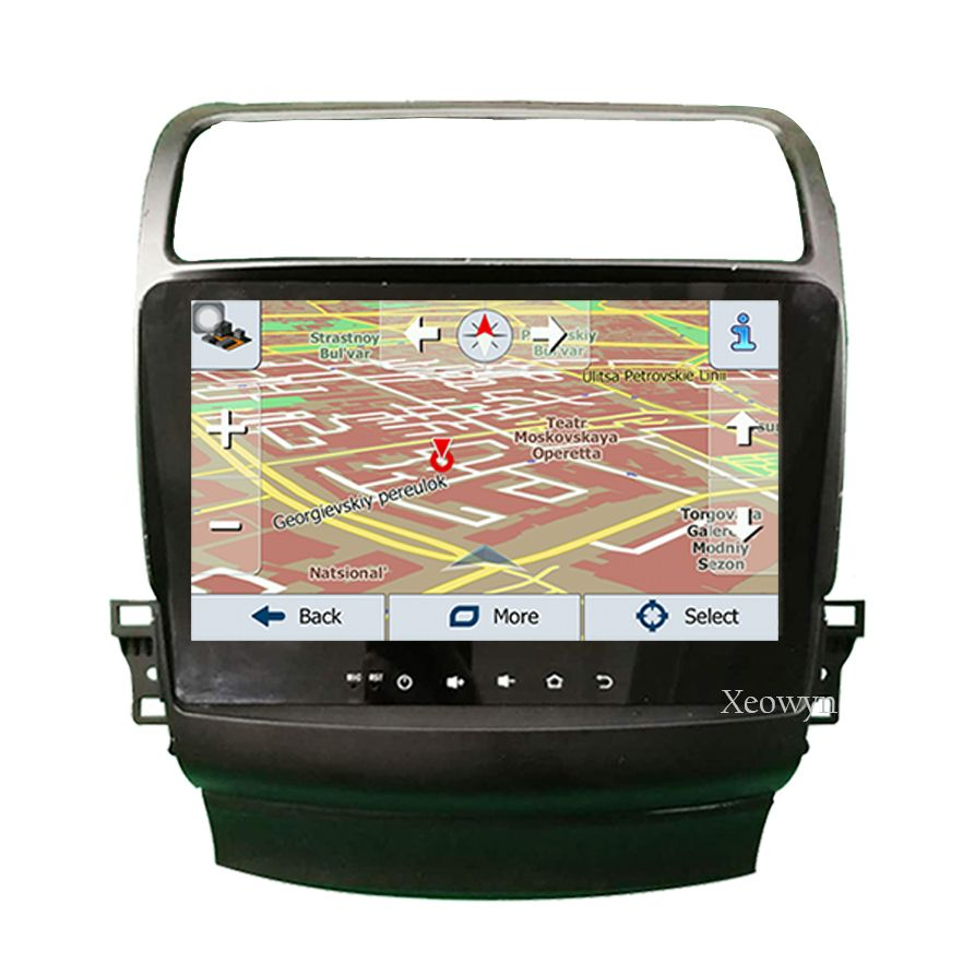 "10.4""Quad Core 1024600 Car Radio GPS Navigation For Acura"