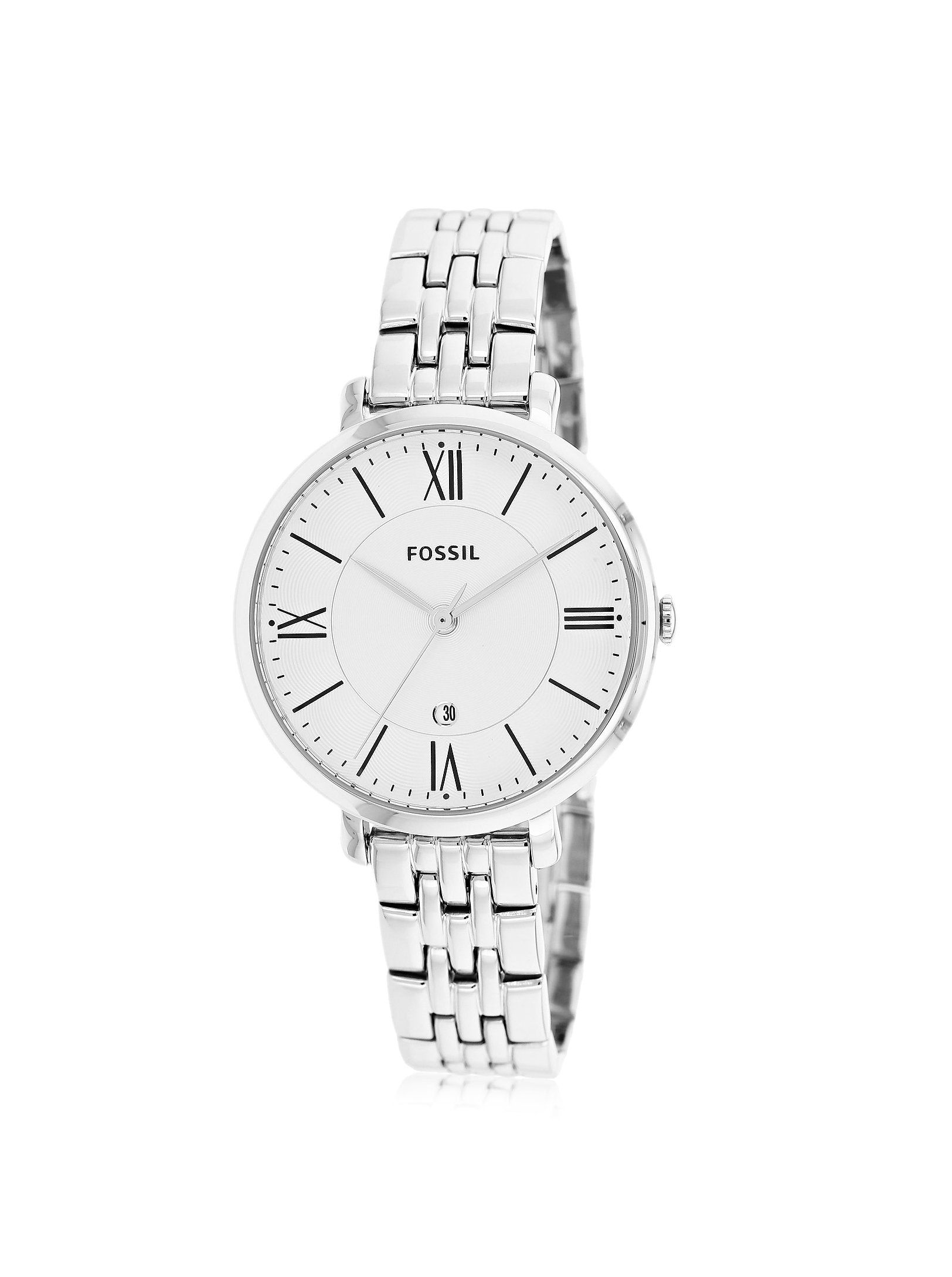 59e300a49d5c Fossil Women's ES3433 Jacqueline Three-Hand Stainless Steel Watch - Silver- Tone at MYHABIT