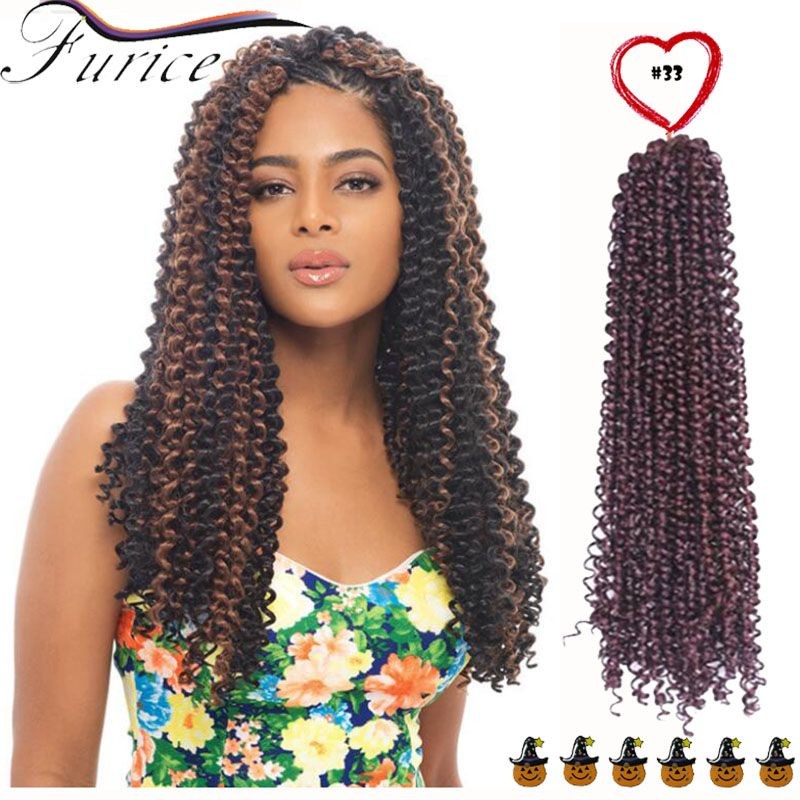 New premium deep wave synthetic hair extension curly synthetic hair pmusecretfo Choice Image