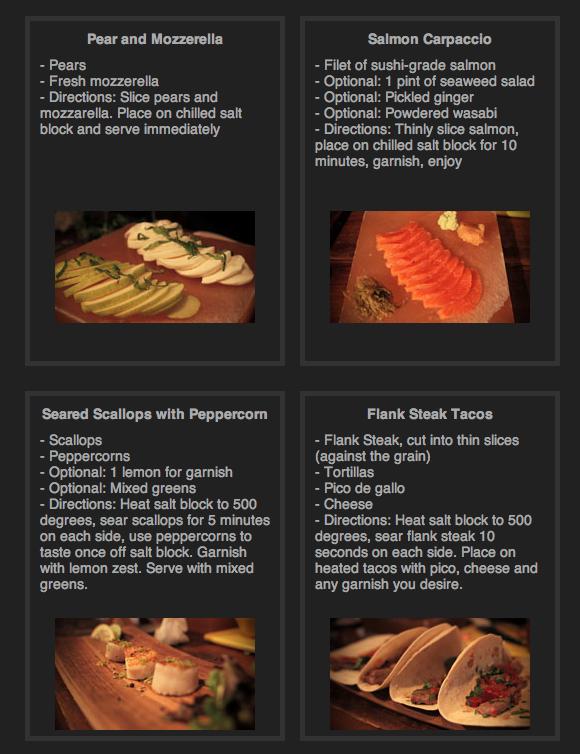 Pin By Chat Chow Tv On Food Drinks Restaurants Salt Block Cooking Himalayan Salt Block Recipes Salt Block Recipes