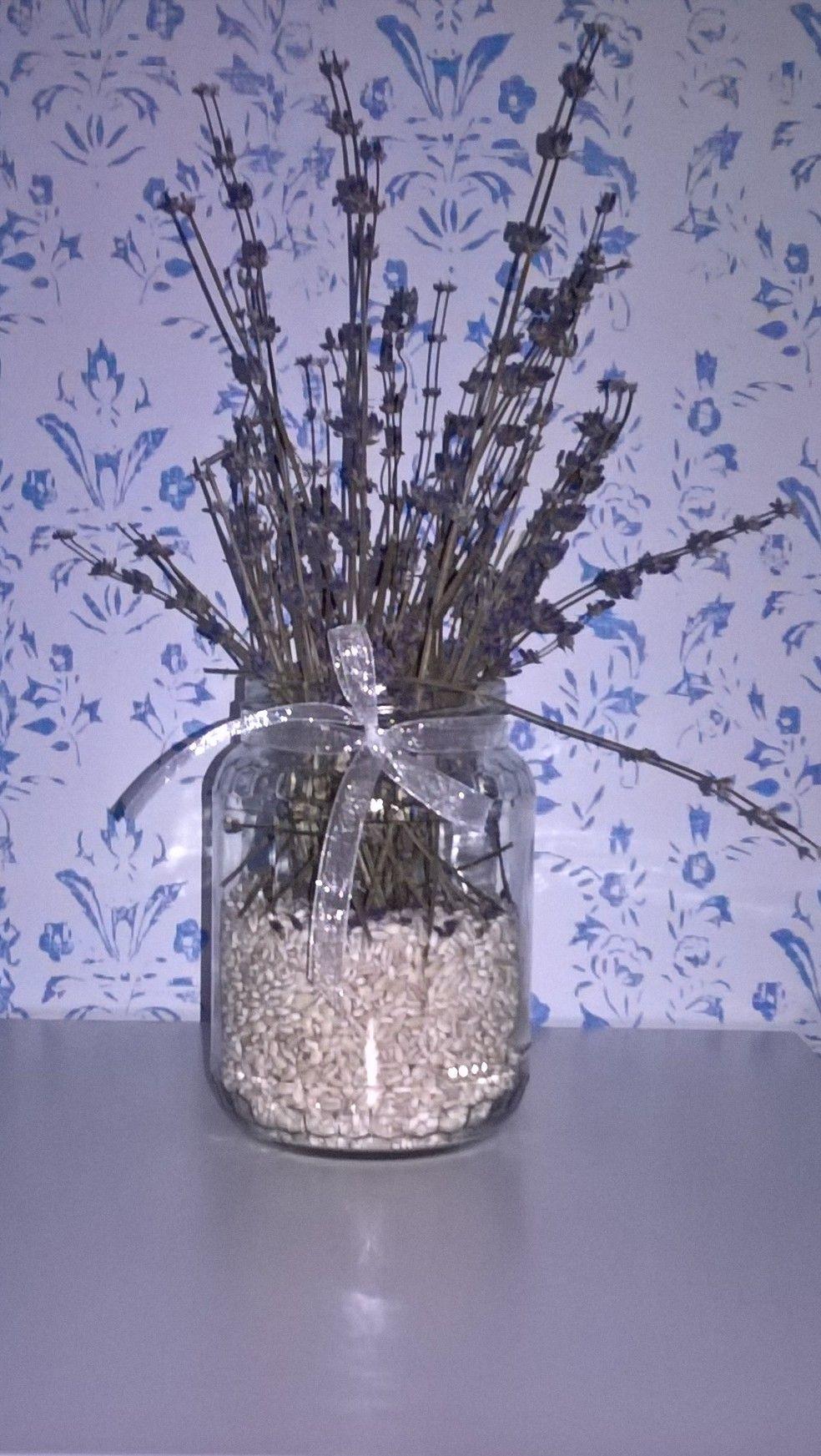 lavender centerpiece, centrotavola lavanda