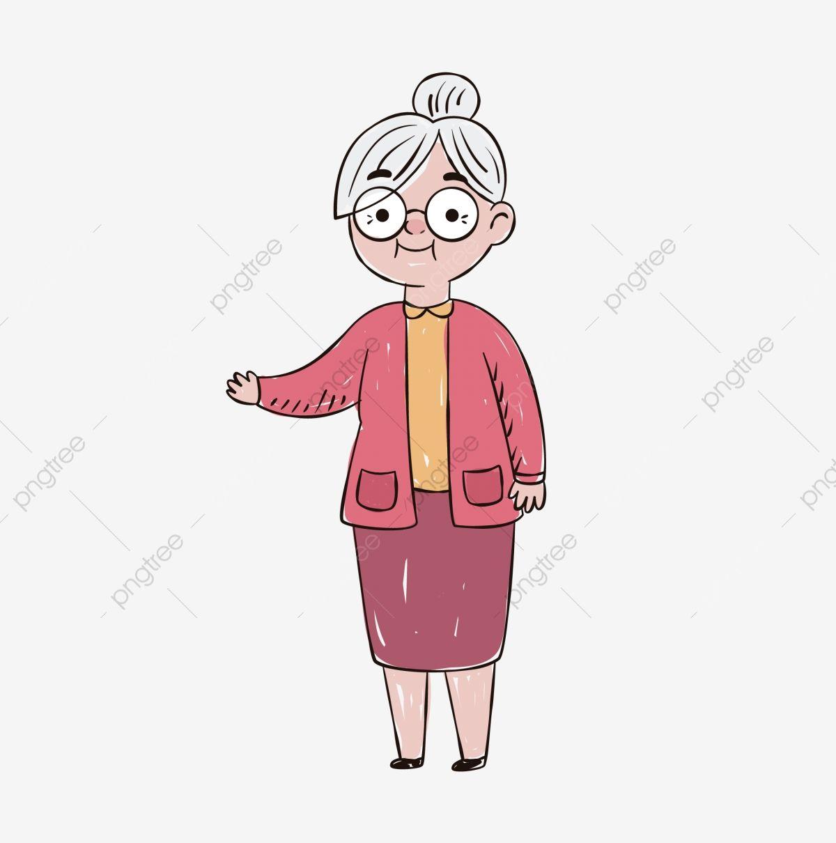 Amablemente Bondadosa Abuela Abuela Amablemente Animados Tinta Vieja Abuela Abuela De Dibujos Animados Png Y Vector Para Descargar Gratis Pngtree How To Draw Hands Hand Painted Graphic Resources