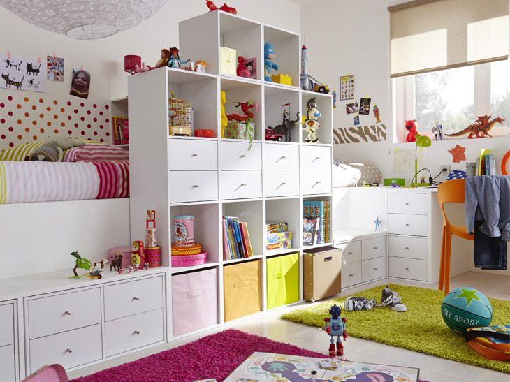 Des Chambres D Enfant Bien Rangees Leroy Merlin Rangement Chambre Chambre Enfant