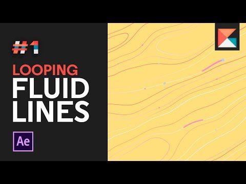 Tutorial 1 Looping Fluid Lines In After Effects Youtube After Effects Line Animation Adobe After Effects Tutorials