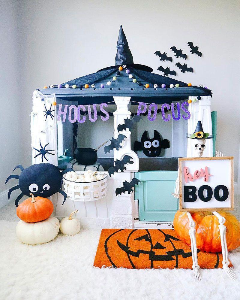 Awesome Halloween Décor Ideas in a Kid's Room Fun diy