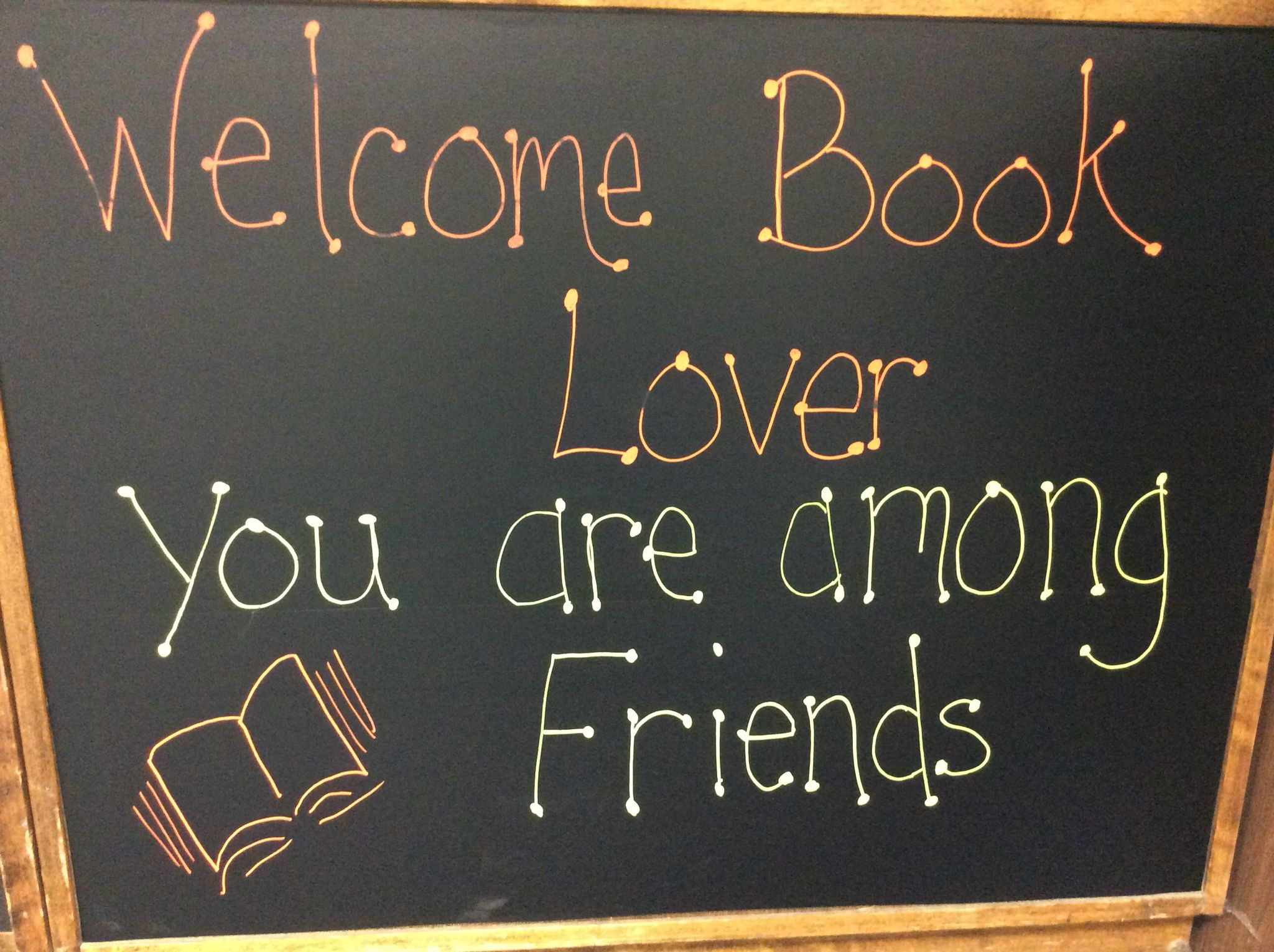 Welcome book lover... You are among friends here at the MUHS library!