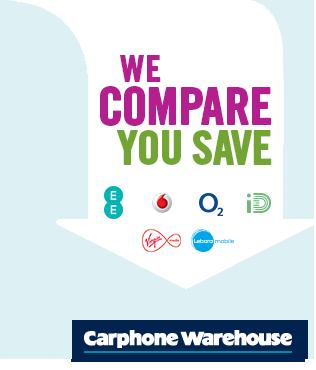 We Compare, You Save - Carphone Warehouse