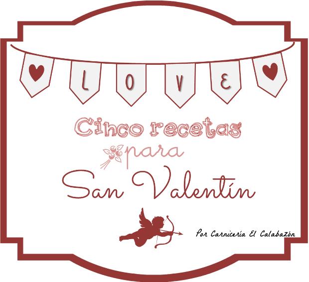 5 recetas para San Valentín