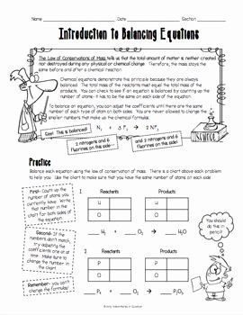 50 Introduction to Energy Worksheet in 2020 | Chemical ...
