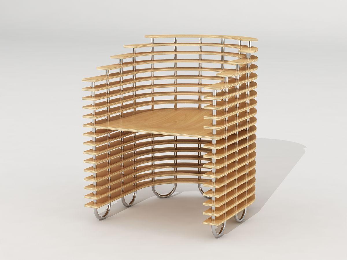Vision 2   Chair Concept By Svilen Gamolov