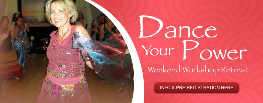 Dance Your Power Weekend Retreat When was the last time you let your inhibitions go, and forgot about who was watching… or what people might think… or anything except the natural rhythms of your own body and soul?  When was the last time you danced?