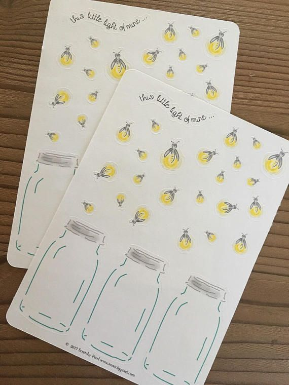 df945ee0ba8a8 Firefly Stickers $1.99 on Etsy   Planners, and Journals   Journal ...