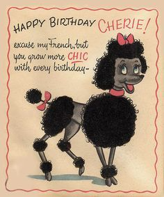 Poodle happy birthday cardd free google search cards pinterest poodle happy birthday cardd free google search bookmarktalkfo Gallery
