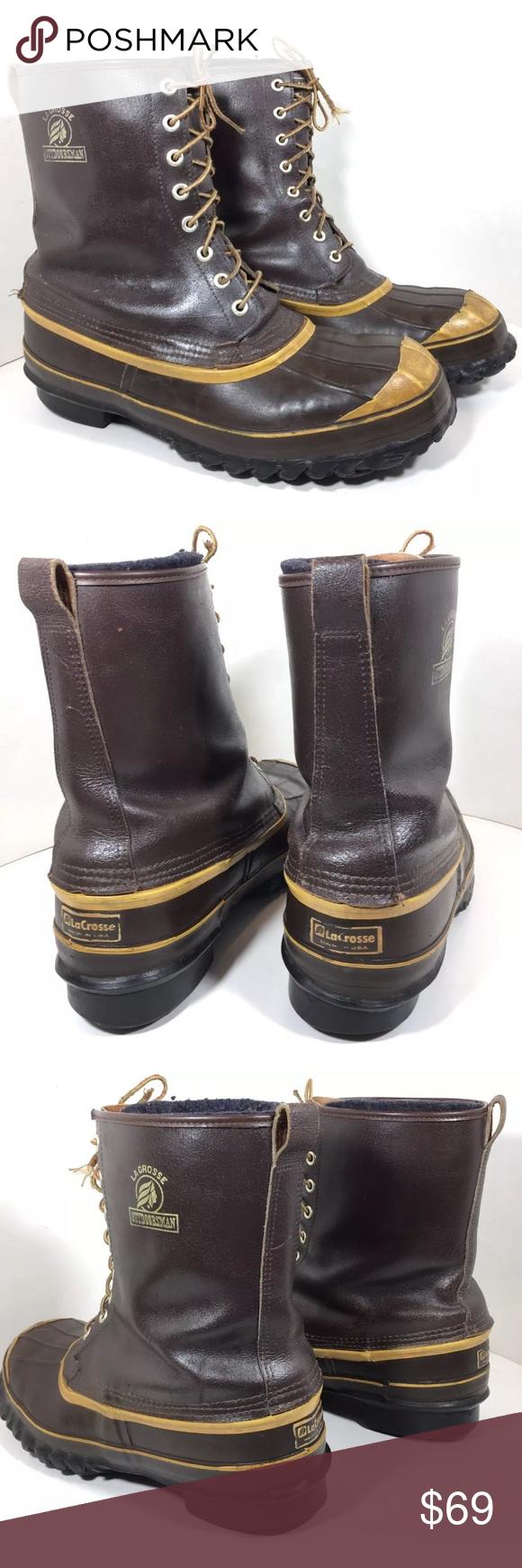 7b366d098cb Whites / La Crosse Steel Toe PAC Snow Winter Boot Men's Whites ...