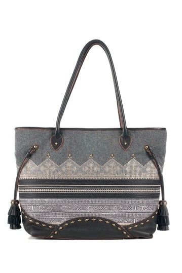 Isabella Fiore Winter Wonderland Ava Tote by Color Story: Handbags on @HauteLook